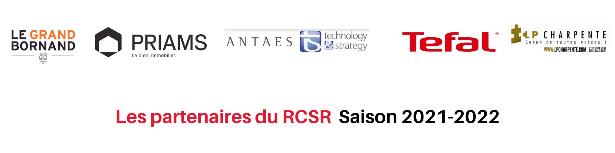 Les partenaires du RCSR Saison 2021-2022
